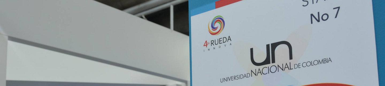 'Stand' de la UN en la 4a. Rueda Innova